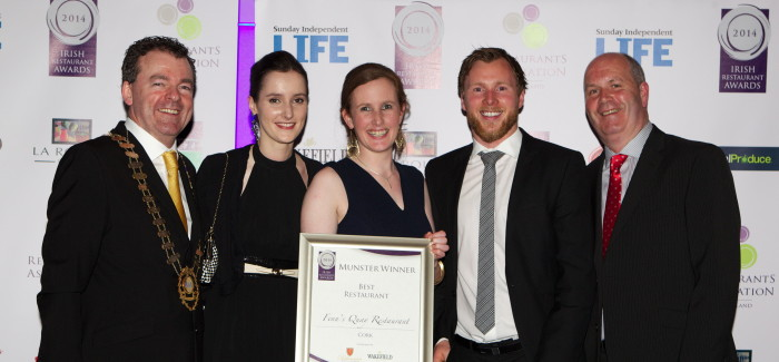Munster Regional Awards 2014