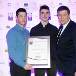 James O'Gara, Ricky O'Gara, Adrian Cummins of the Restaurants Association