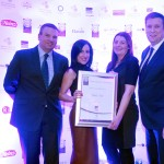 Jim Mulcahy of Bunzl McLaughlin, Tanya Hennigan, Eimear Killian, Adrian Cummins of the Restaurants Association