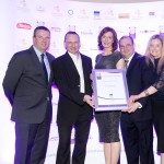 Jim Mulcahy of Bunzl McLaughlin, Vincent Millard, Jacinta Callaghan, Daniel Knightm Masha Campbell, Adrian Cummins of the Restaurants Association