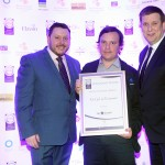 Keith Mahon of TheTaste, David Murphy, Adrian Cummins of the Restaurants Association