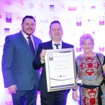 Keith Mahon of TheTaste, Declan Harrison, Dympna Harrison, Adrian Cummins of the Restaurants Association