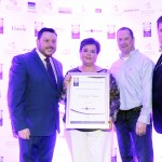 Keith Mahon of TheTaste, Siobhán Smyth, David Fitzgibbon,, Adrian Cummins of the Restaurants Association
