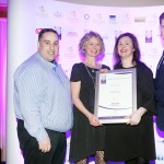 Leo Molloy of Aryzta Food Solutions, Patricia Island, Colleen McMahon, Adrian Cummins of the Restaurants Association