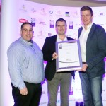 Leo Molloy of Aryzta Food Solutions, Patrick Sweeny, David Dunne, Adrian Cummins of the Restaurants Association