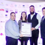 Leo Molloy of Aryzta Food Solutions, Shaunna Brady, Matt Cavill, Adrian Cummins of the Restaurants Association