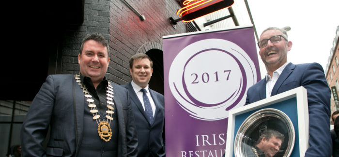 Irish Restaurant Awards 2017 Launch