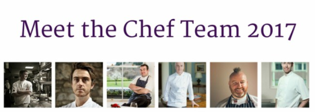 Introducing our 2017 Chef Team