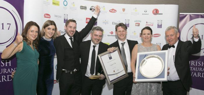Irish Restaurant Award Winners 2017 Revealed