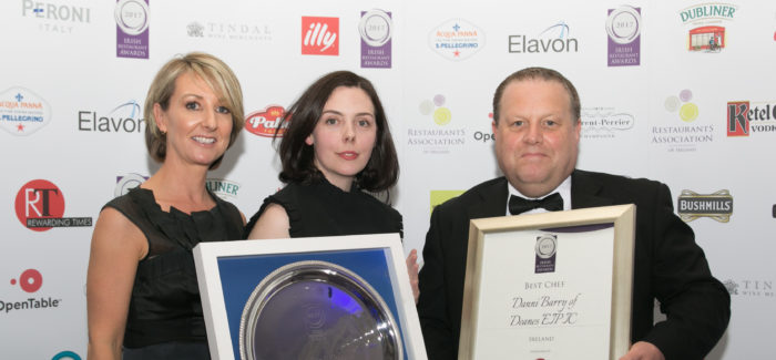 Irish Restaurant Awards 2017