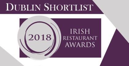 Dublin shortlist Irish Restaurant Awards