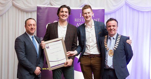 MUNSTER BUSINESSES WIN AT THE IRISH RESTAURANT AWARDS 2018