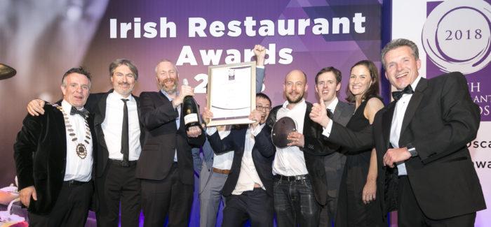 Etto Named Restaurant of the Year at Irish Restaurant Awards 2018