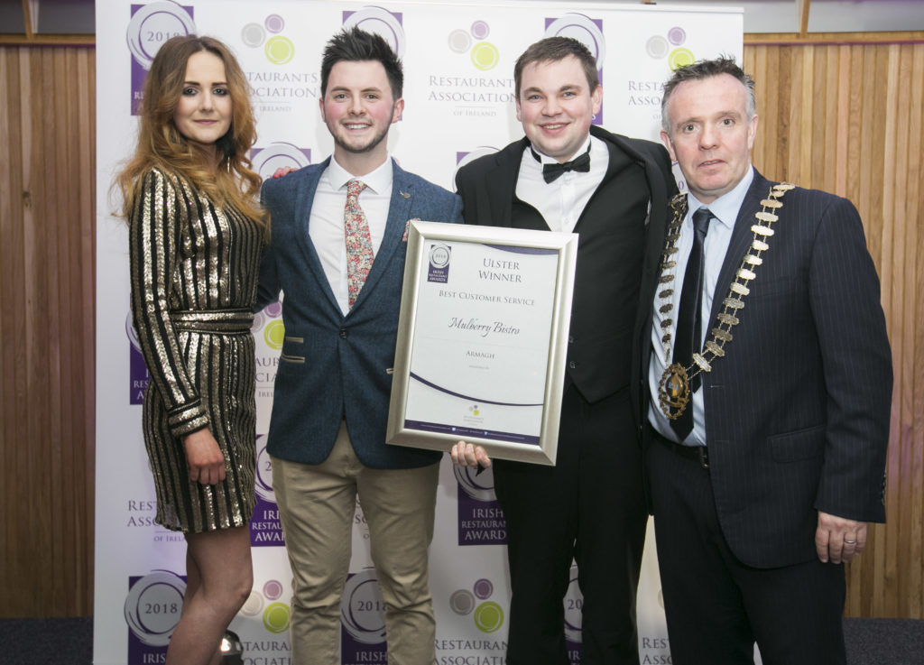 Best Customer Service – Armagh – The Mulberry Bistro