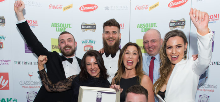 Irish Restaurant Awards 2018