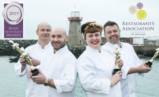 Irish Restaurant Awards Launched for 2019 – Nominations Now Open!