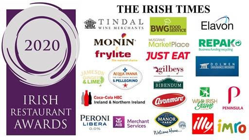 TOP RESTAURANTS IN LEINSTER ANNOUNCED AT THE IRISH RESTAURANT AWARDS 2020